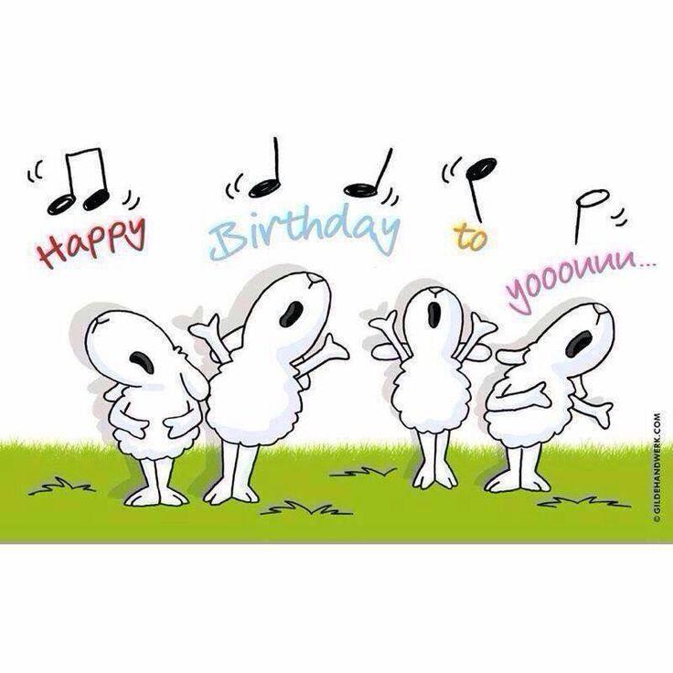 Картинки с днем рождения прикольные на английском