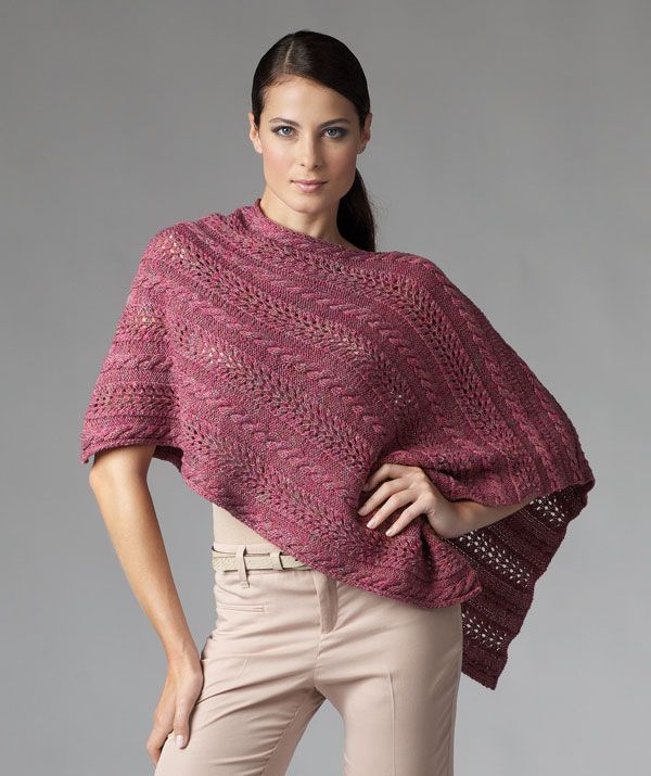 Free Pattern Ladies Poncho Personally I Would Just Make A