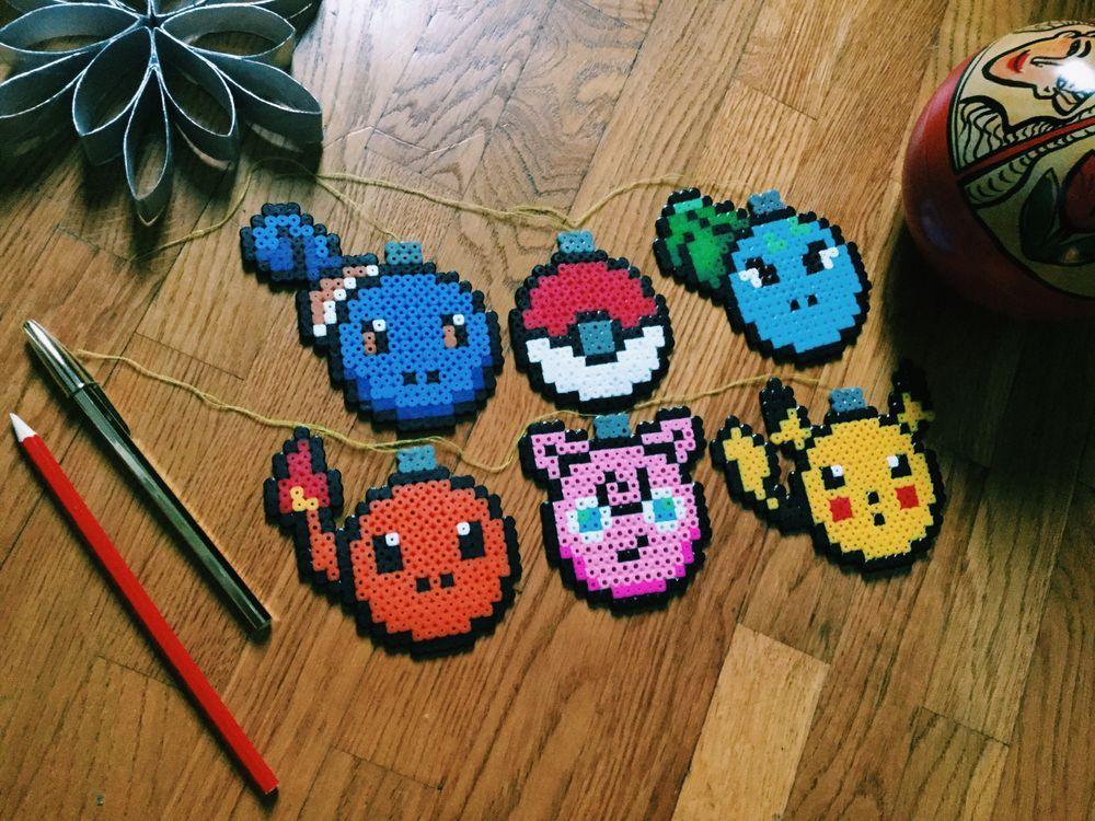 Pokémon tree ornaments via Crafty Tats. Click on the image to see more!