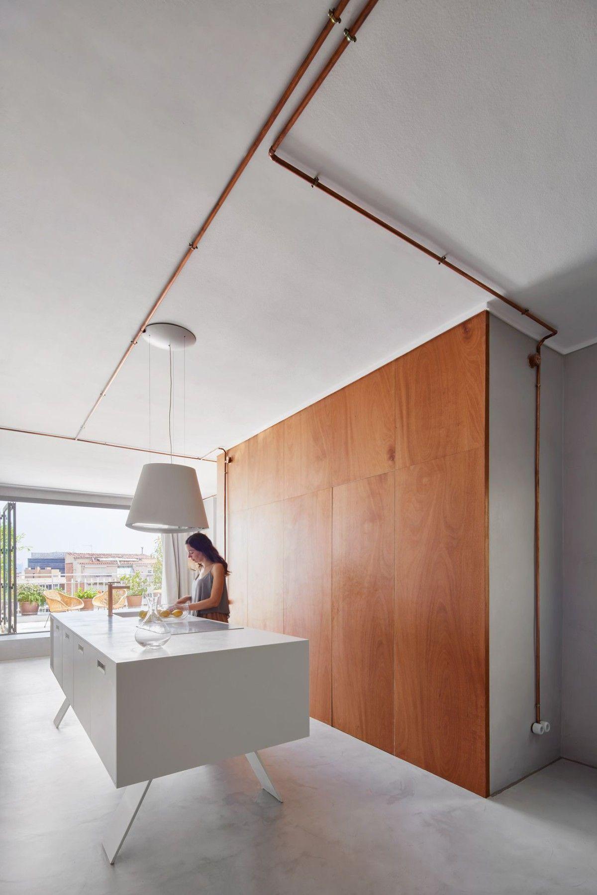 Cometa Architects . MARINA APARTMENT. BARCELONA afasia (8) | DISEÑO ...