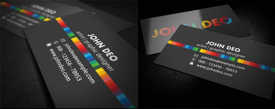 Artistic Business Card Business Cards Creattica Artist Business Cards Business Card Template Design Premium Business Cards