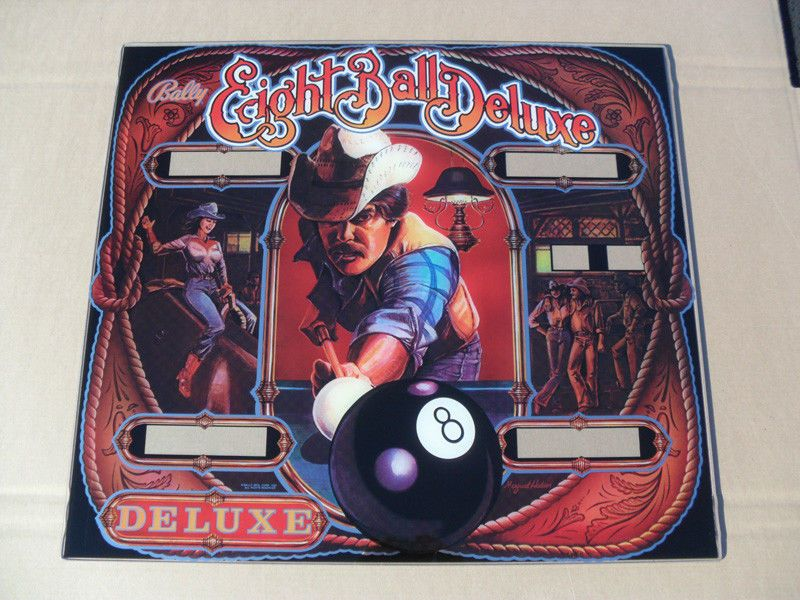 Bally Eight Ball Deluxe Pinball Machine Drop Target Set Free Shipping New!