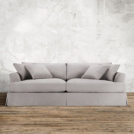 arhaus emory 94 slipcovered sofa in deso dove too expensive but rh pinterest com