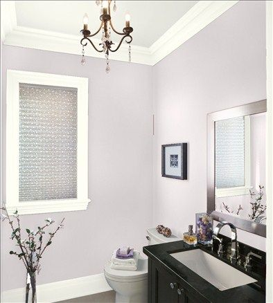 Raindrops on Roses color. Benjamin Moore | Paint Colors | Pinterest on platelet bathroom design, small bathroom layouts design, home depot bathroom design,