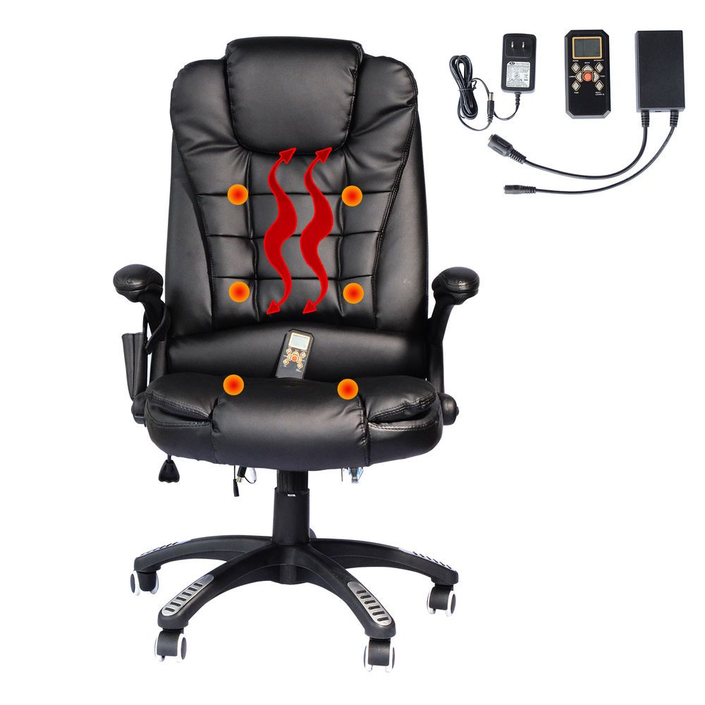 details about heated vibrating office massage chair executive rh pinterest com