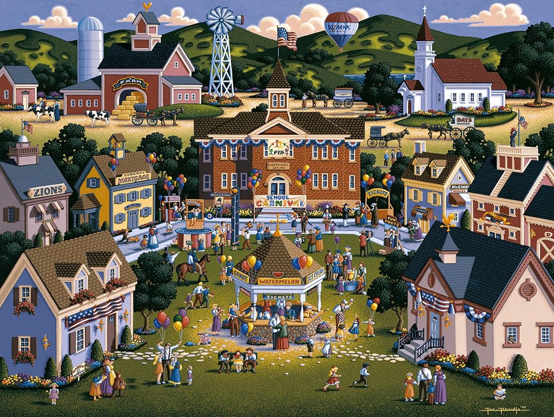 School Carnival by Eric Dowdle