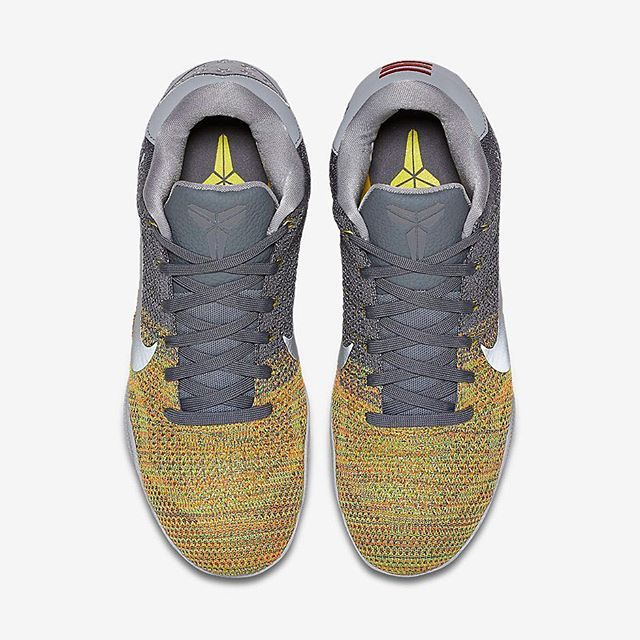 On Low August At Grey Xi Nike Elite 11 Kobe 'wolf Voltage' Dropping TOXZkPiu