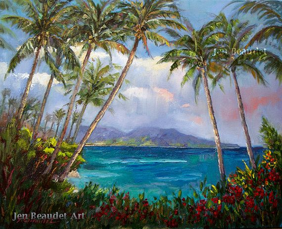 Coastal View Sung Kim Seascape Art Print 16x12