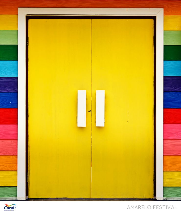 Entrada colorida.