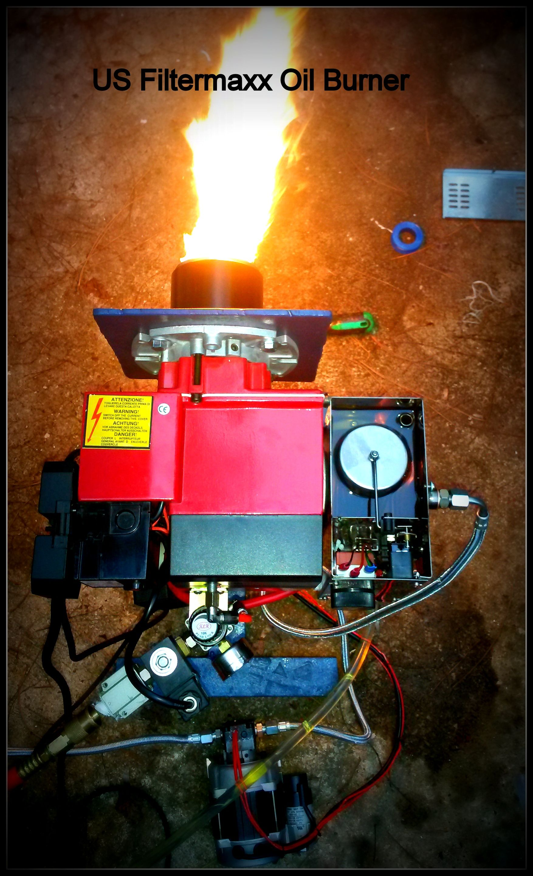 Time for a waste oil heater oil burners winter months for Burning used motor oil for heat