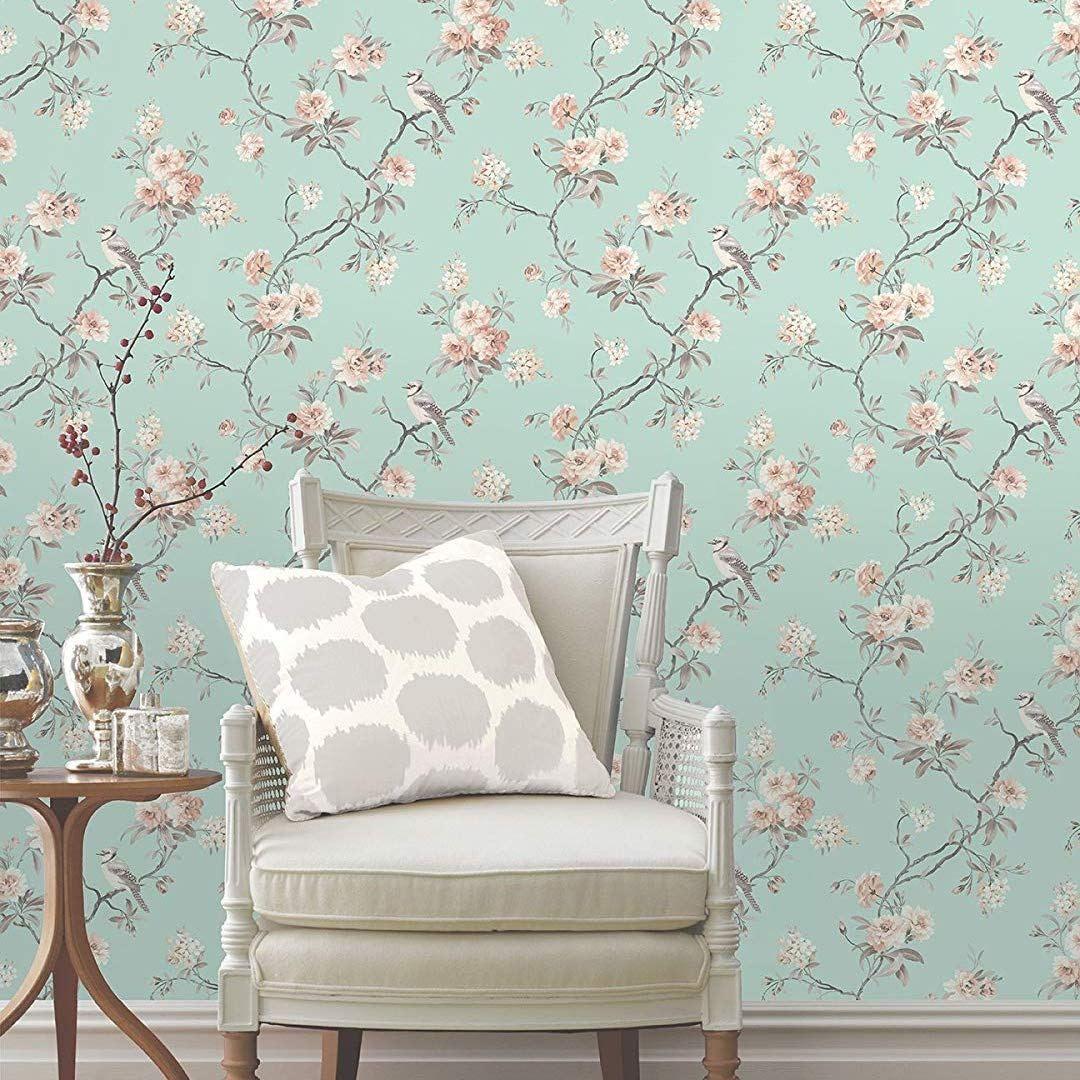 10 Best Selling Vintage Floral Wallpapers On Amazon Cozy Home 101 Vintage Floral Wallpapers Floral Wallpaper Vintage Floral