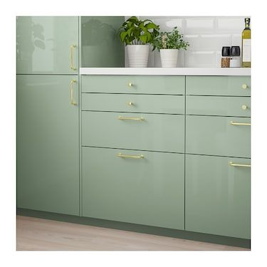Best Kallarp Drawer Front High Gloss Light Green Ikea Ikea 400 x 300