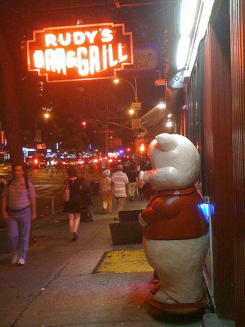 Rudy's Bar & Grill | My New York City | Cheap dog food, Bar