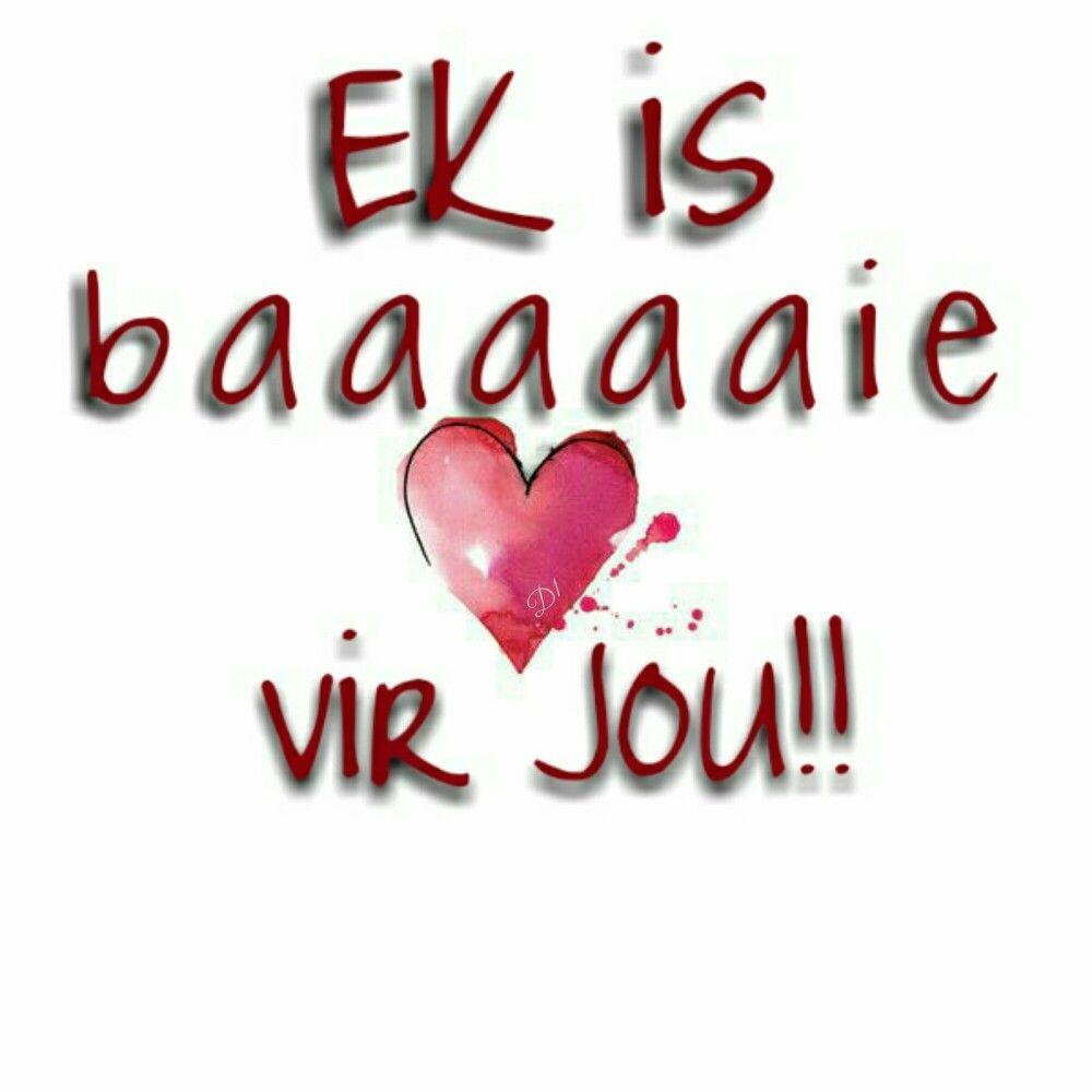 Ek is lief vir jou meaning