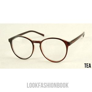 e4567eba17 Vintage Fashion Designer Round Thin Frame Women MEN Unisex Eyeglasses 4  Colors