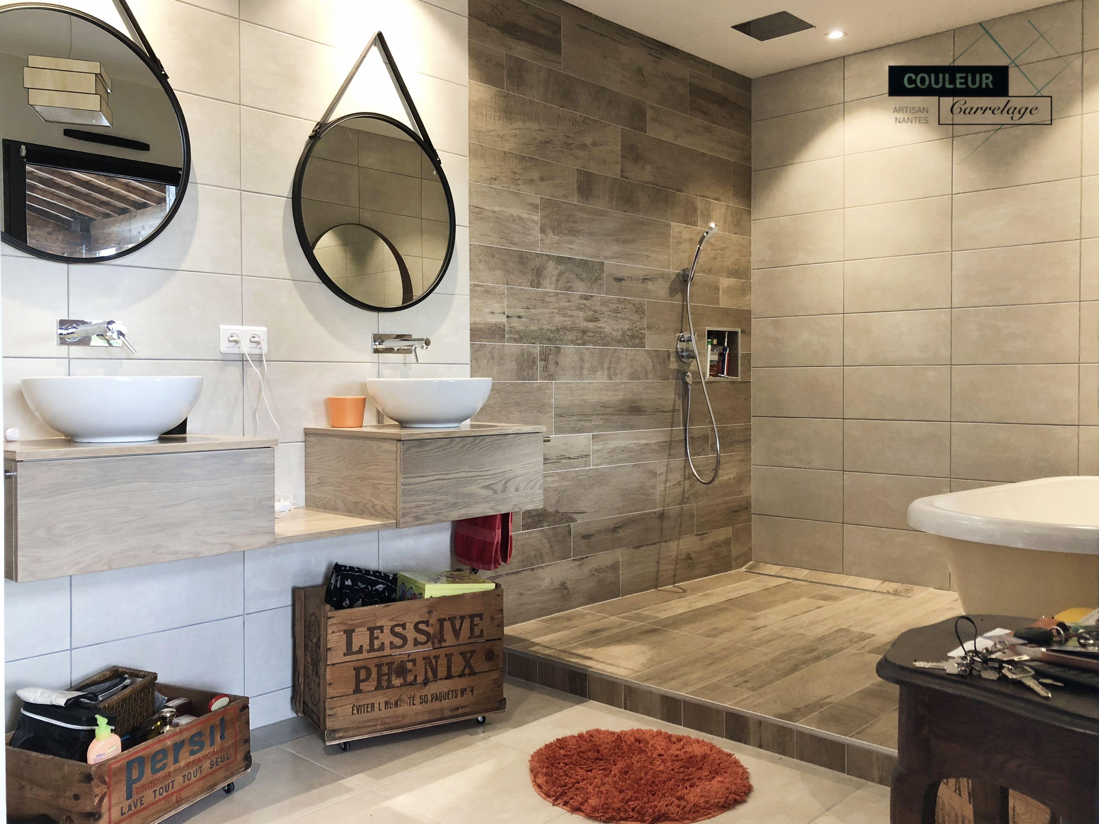 12+ Faience imitation bois salle de bain ideas