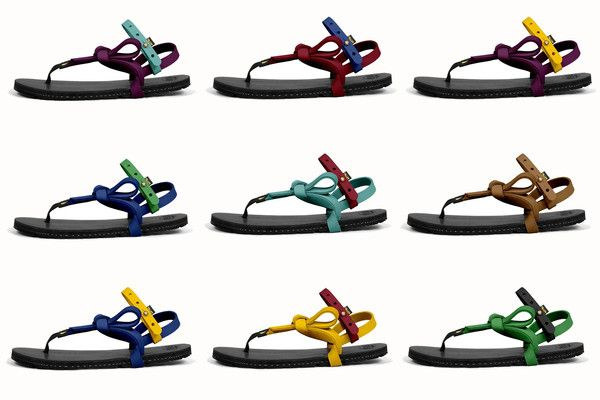 2069c5b251e6 Monkeys! Color laces are now available on the LUNA Origen sandals! After  years of testing and preparation