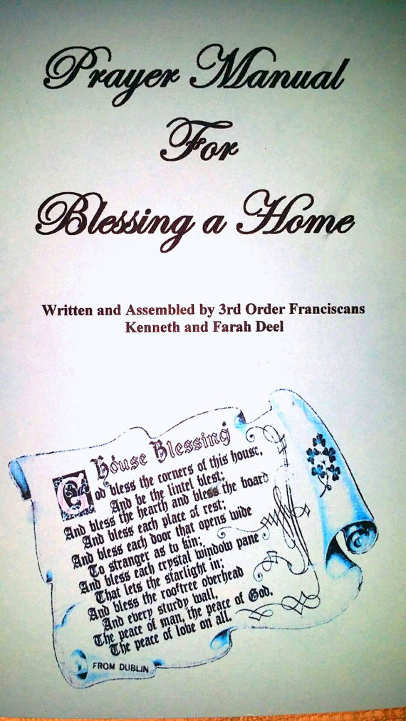 House blessing kit do it yourself christian house blessing house blessing kit do it yourself christian house blessing solutioingenieria Gallery