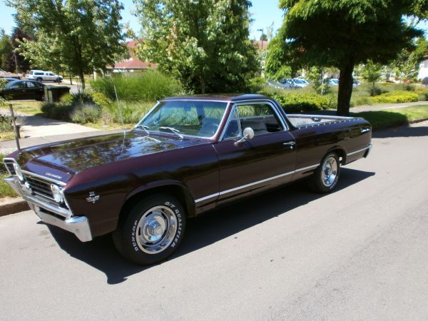 1967 Chevy El Camino Cool Old Cars Dream Cars Old Trucks