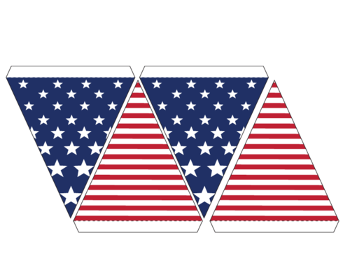 Usa Bunting Flags Part 3 Png 500 386 Banners Buntings Flag Printable Diy Graduation Cap