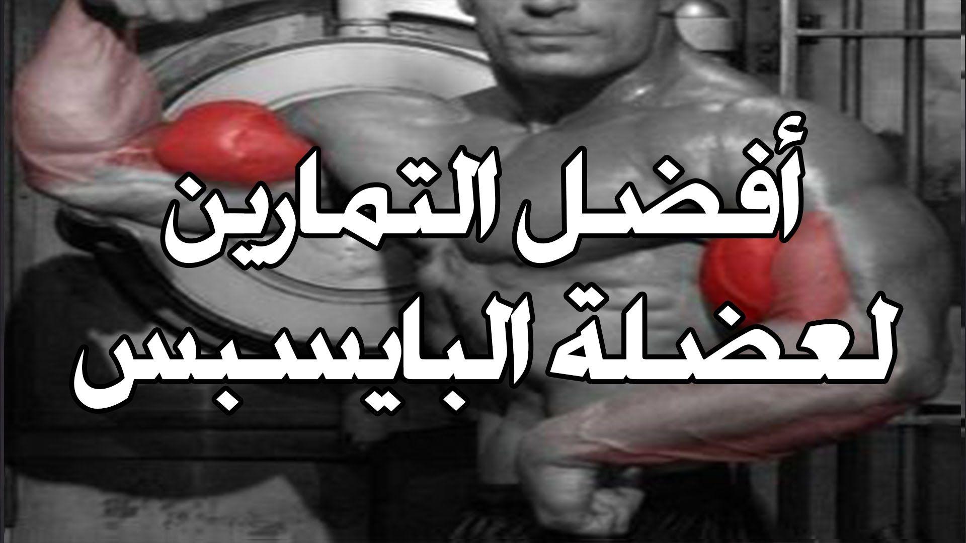 أفضل التمارين لعضلة البايسبس تمارين بايسبس تضخيم عضلة الباي سبس