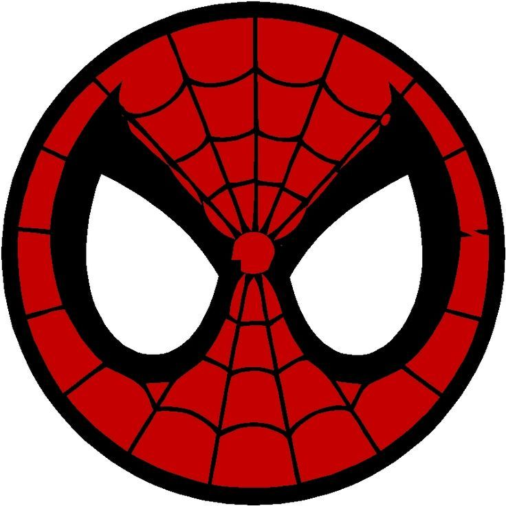 Spiderman face logo - photo#9