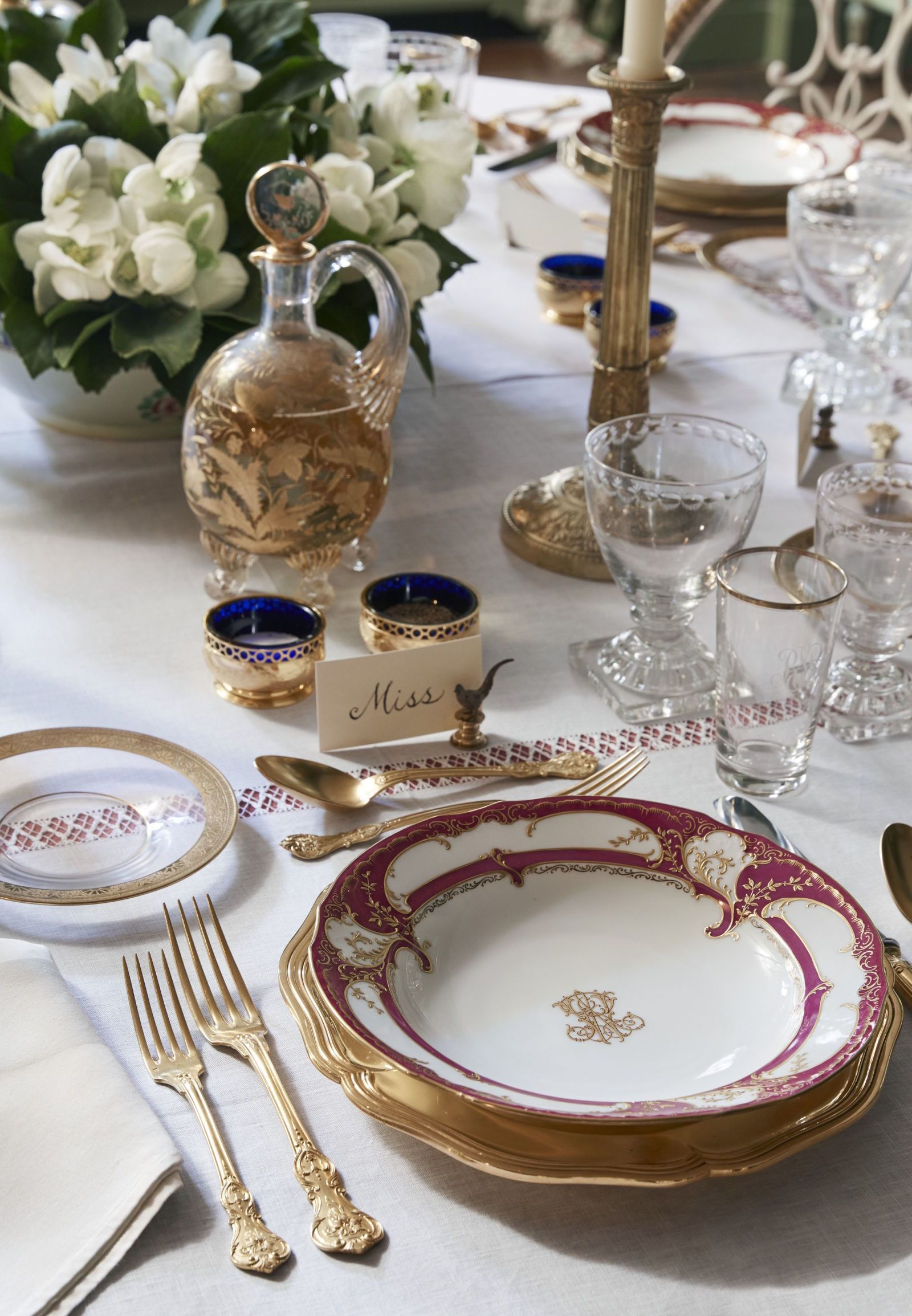 10 unique place settings for your holiday table french interiors rh pinterest com