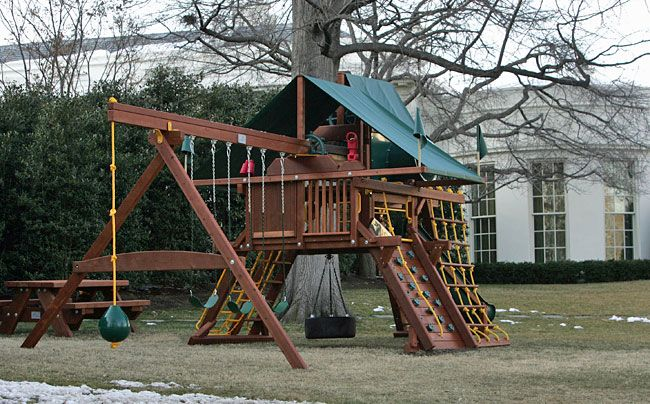 Rainbow Castle At The White House Swingset Whitehouse Unique
