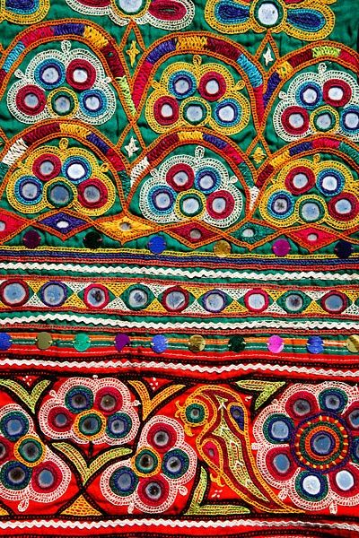 Ahir embroidery, Anjar region, Gujarat, India