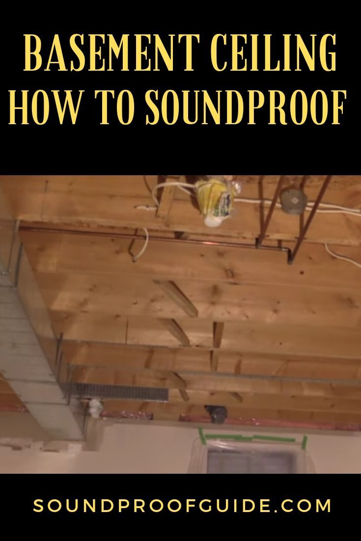 How to Soundproof an Unfinished Basement Ceiling - 4 Cheap ...