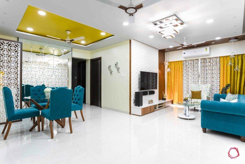 Low Maintenance Clutter Free 3bhk Luxury Chairs Kitchen