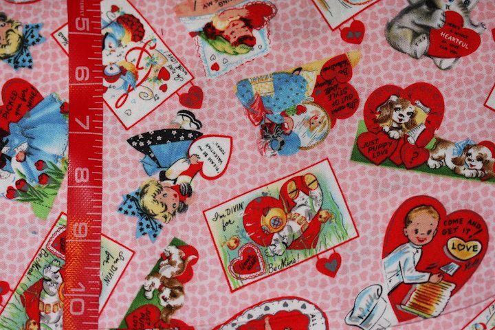 Valentine S Day Fabric Michael Miller My Valentine Vintage