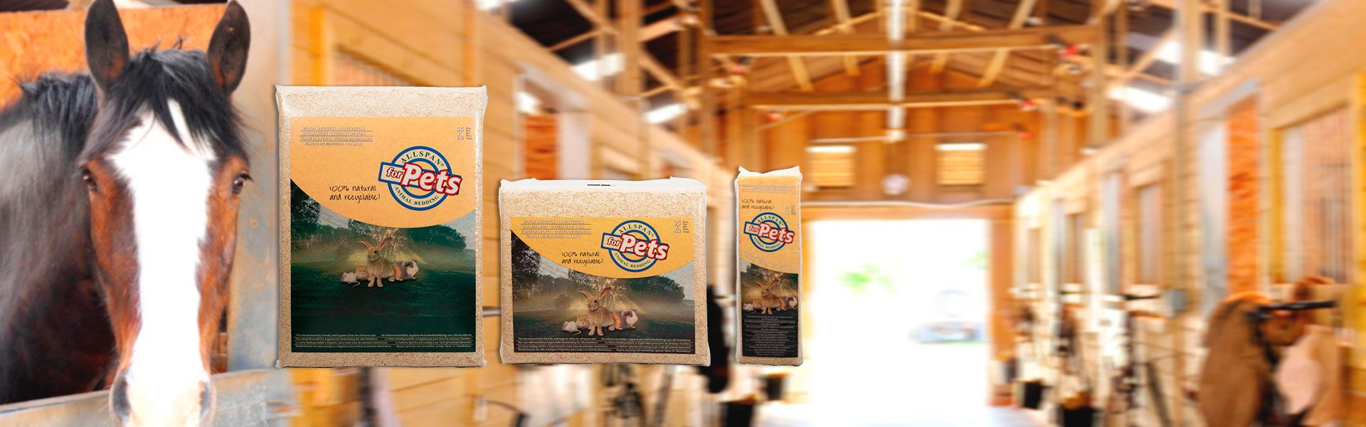Allspan Woodshavings are 100% natural and recyclable animal
