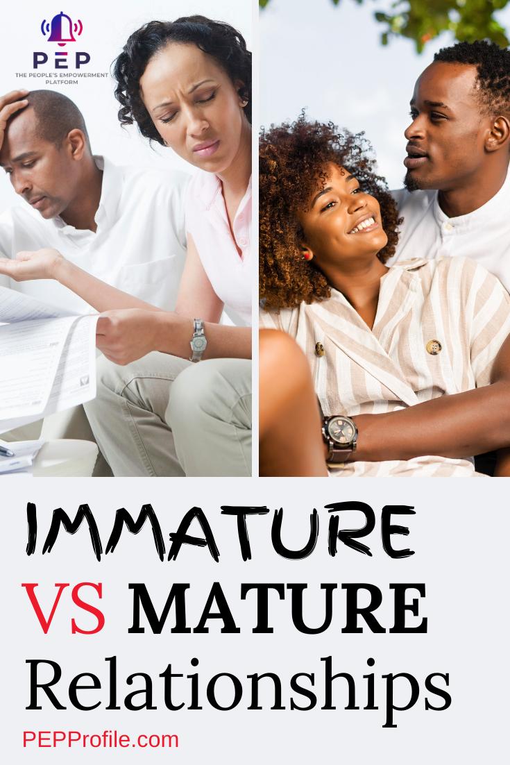 Immature Relationship Behavior | Immature, Relationship