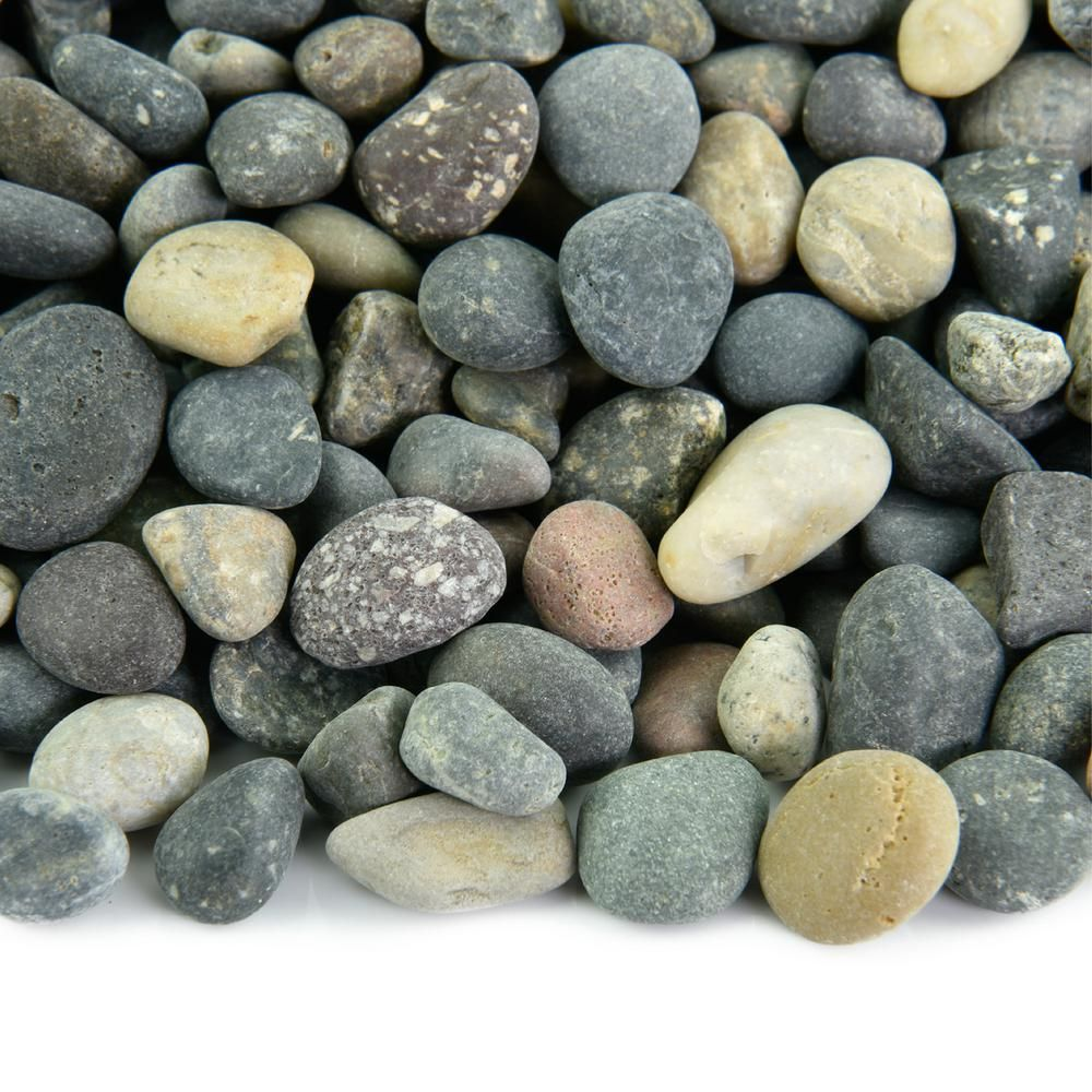 Southwest Boulder Stone 20 Lbs Of Mixed 3 8 In Mexican Beach