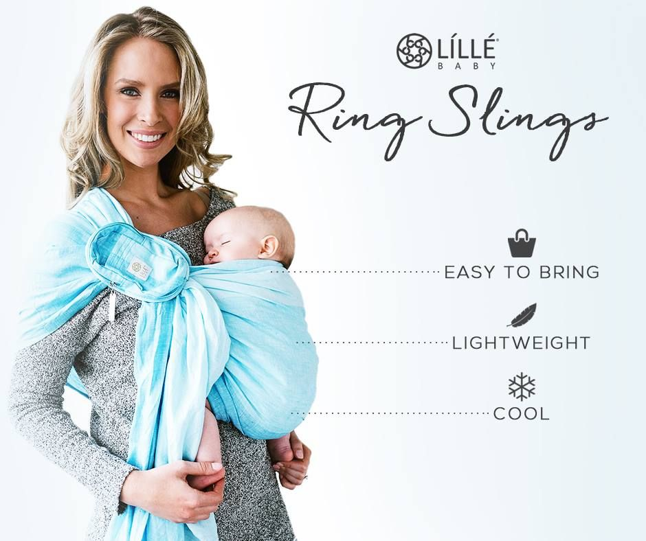 16c3796a0c0 LILLEbaby Ring Sling Best Baby Carrier