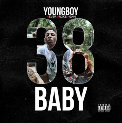 Nba Youngboy Shares 38 Baby Mixtape In 2020 Music Album Covers Google Play Music Album