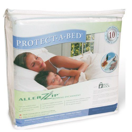 Twin Extra Long 11 Allerzip Terrycloth Anti Allergy And Bed Bug Proof Mattress Cover Encasement By Pr Mattress Encasement Bed Wetting Zipper Bedding