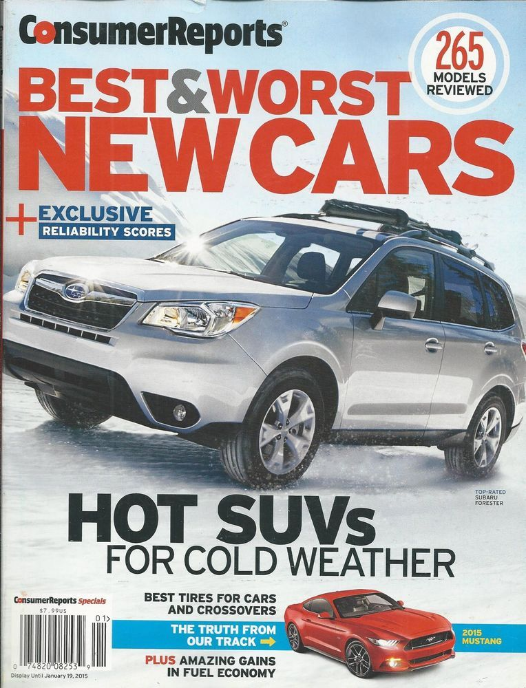 Consumer Reports cars magazine SUV Crossovers Wagons Minivans ...