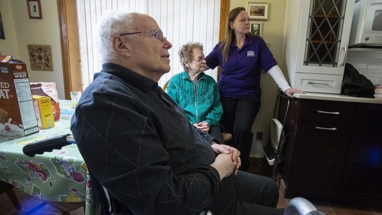 Home health care workers demand struggles home health
