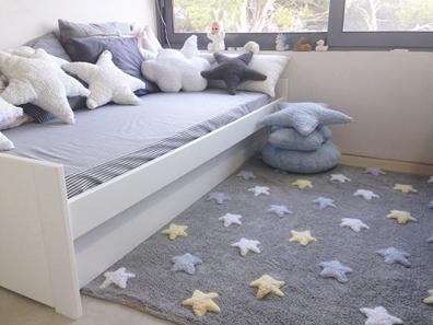 Alfombra habitación niño Estrellas tricolor | Alfombras para cuartos ...