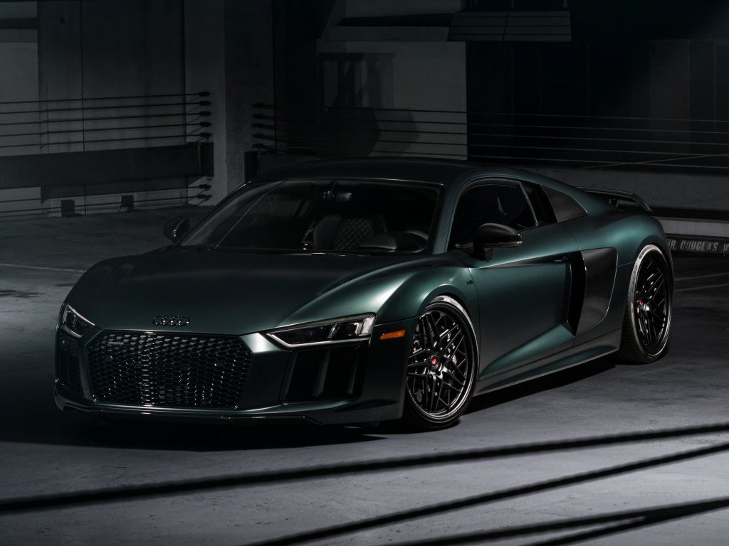 Basement Dark Green Audi R8 Wallpaper Cars Wallpapers Audi