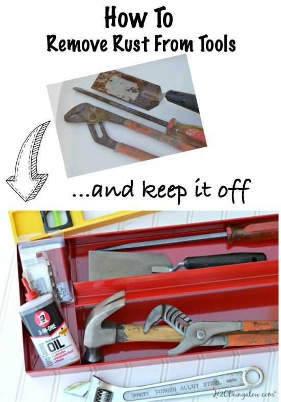 Remove Rust From Tools And Keep It Off Remove Rust
