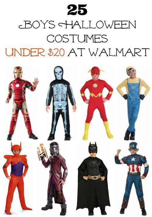 25 Boys Halloween Costumes Under $20 at Walmart  sc 1 st  Pinterest & 25 Boys Halloween Costumes Under $20 at Walmart   Halloween ...