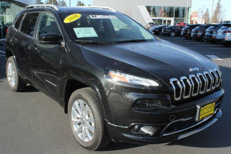 Used 2016 Jeep Cherokee Overland Suv For Sale Only 23 149