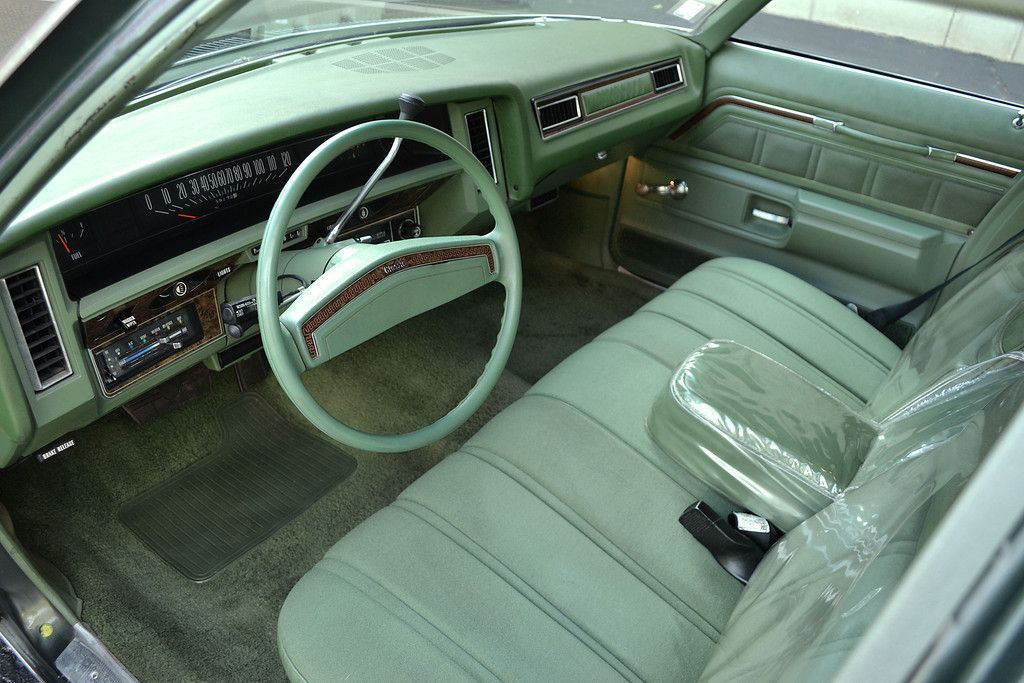 A 1974 Chevrolet Caprice Classic With 69 000 Original Miles Finished In Medium Dark Green