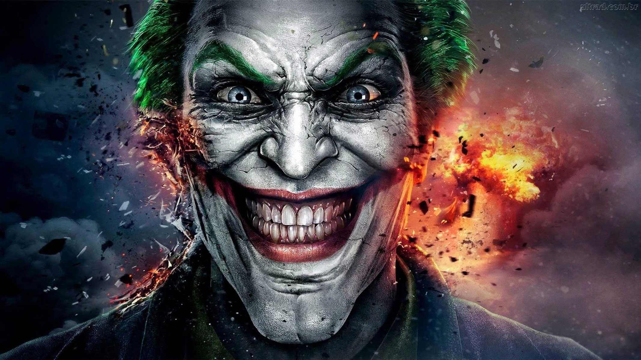 Hd Wallpaper 3d Joker Wallpapers Joker Face Joker Art