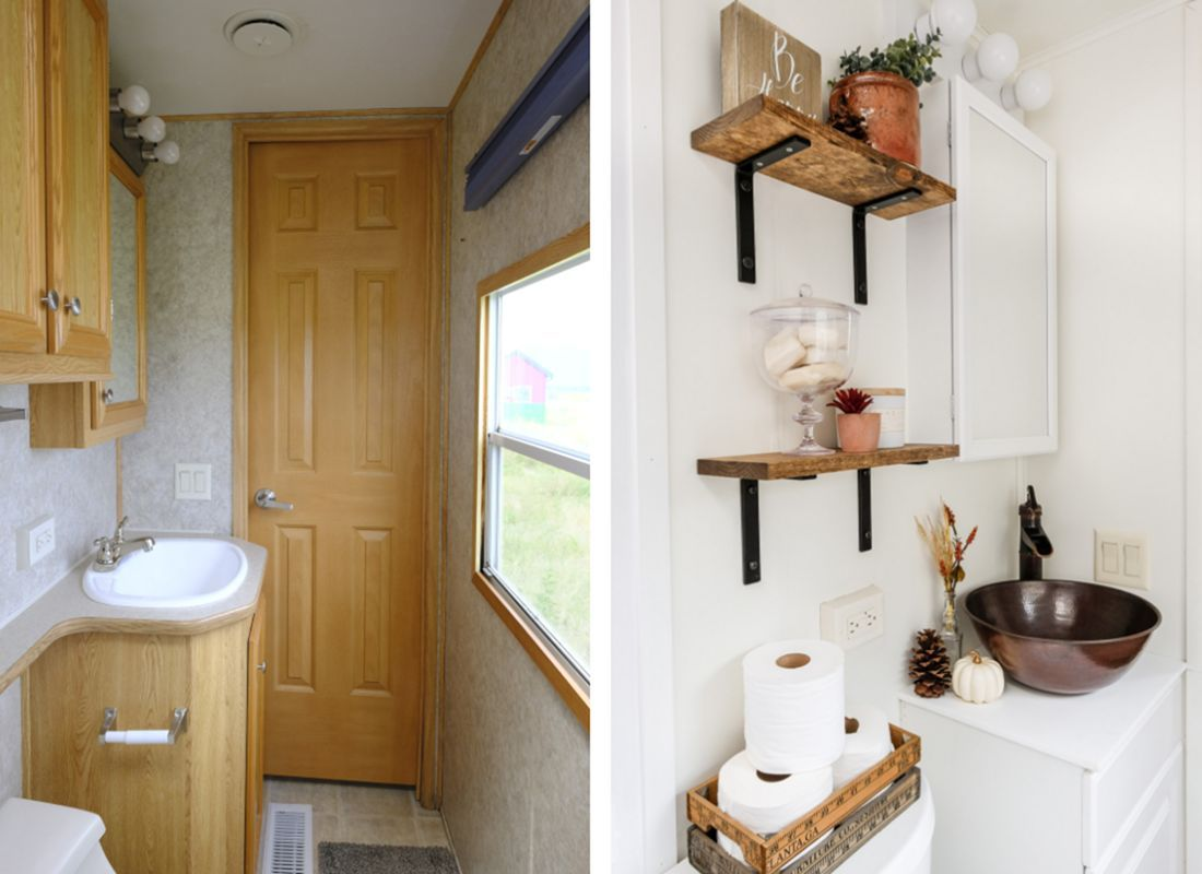 25 Best And Low-Cost Small RV Remodel Ideas With Before ...