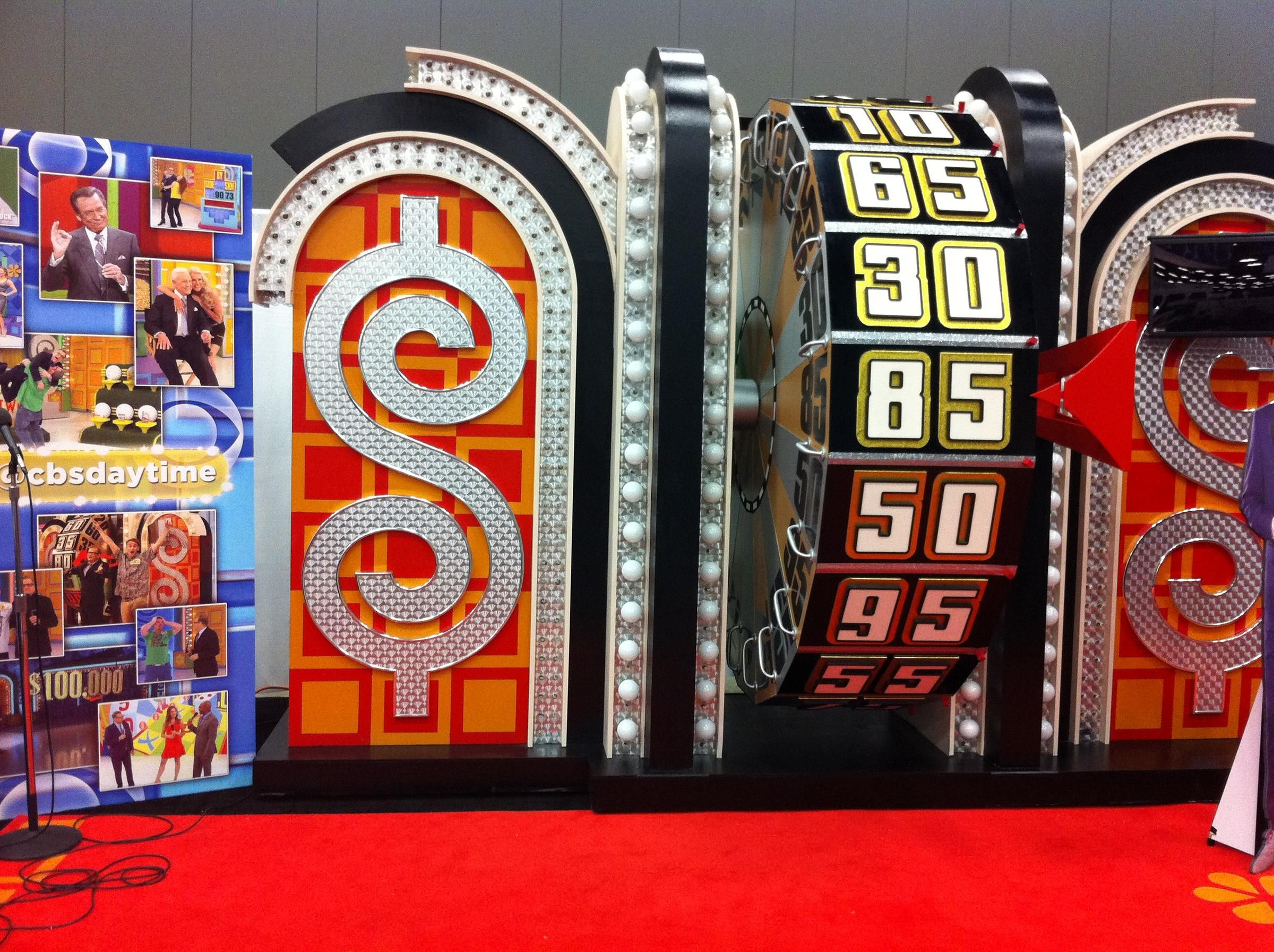 The Price is Right Wheel at SXSW Game show, Price is