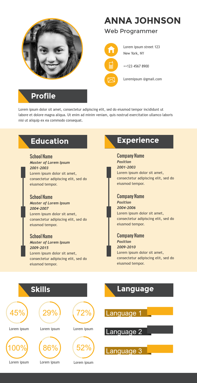 Infographic Resume Templates Infographic Resume Template Infographic Resume Cv Infographic